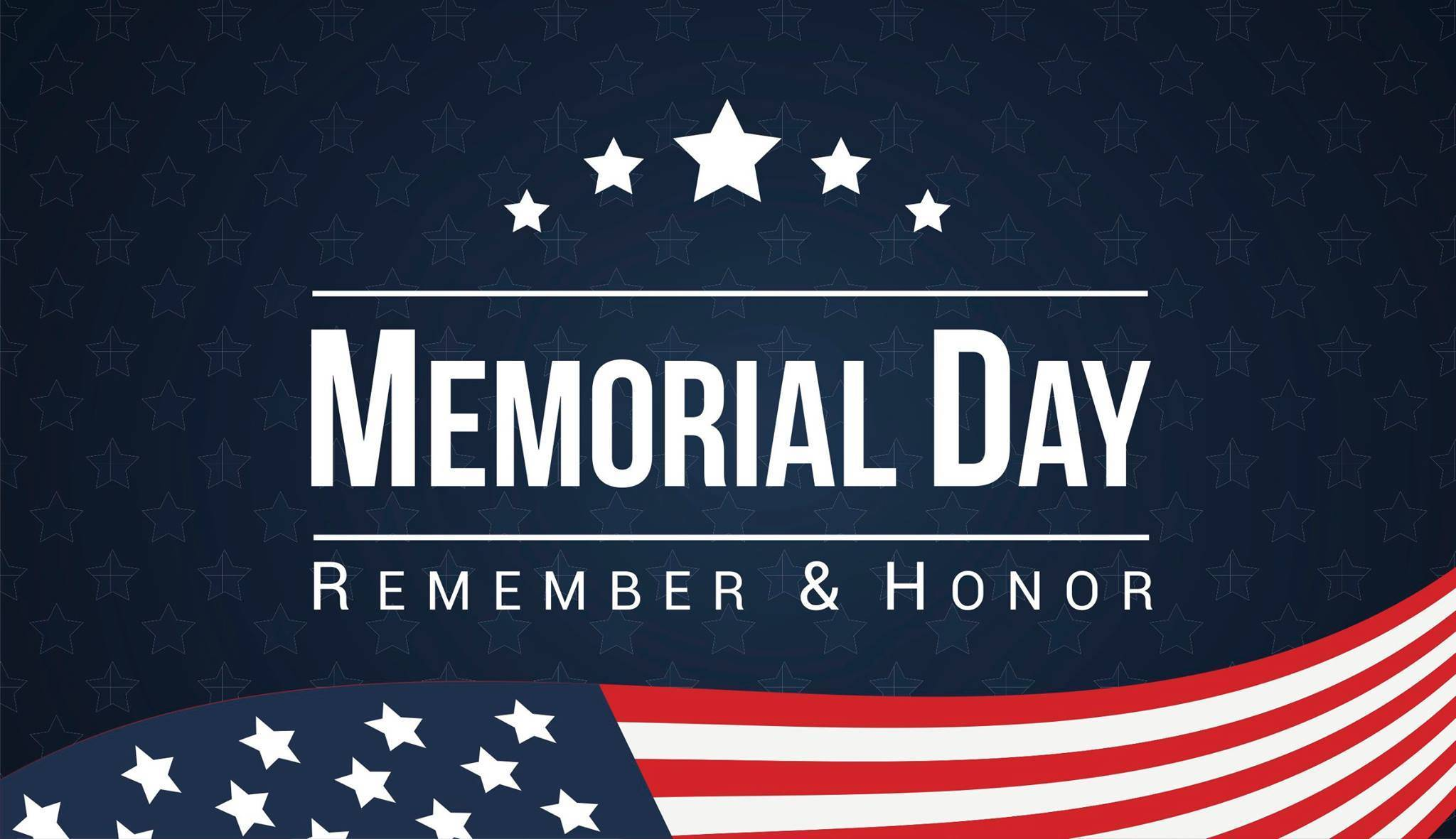 memorial day - campus closure