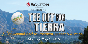 Tee Off for Tierra 12th Annual Golf Tournament, Dinner, Auction & Raffle @ Angeles National Golf Club