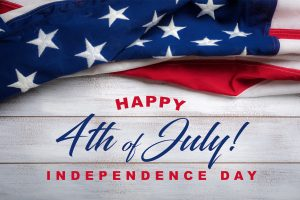 Happy 4th of July!   *HOLIDAY CLOSURE*