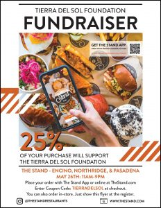 The Stand Fundraiser on Wednesday, May 26th!