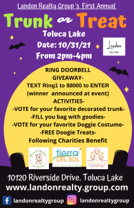 Landon Realty Group's Trunk-or-Treat! Vote for Tierra