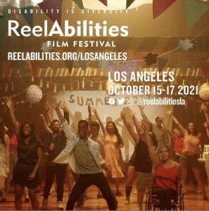 The City of Los Angeles Department on Disability hosts the Fourth Annual ReelAbilities Film Festival Los Angeles 2021.